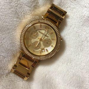 Michael Kors MK5354 Gold-Tone Chronograph Watch